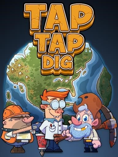 Tap Tap Dig — Idle Clicker Game для Android