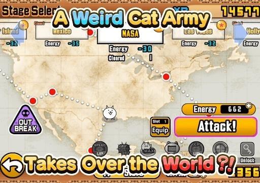 The Battle Cats для Андроид