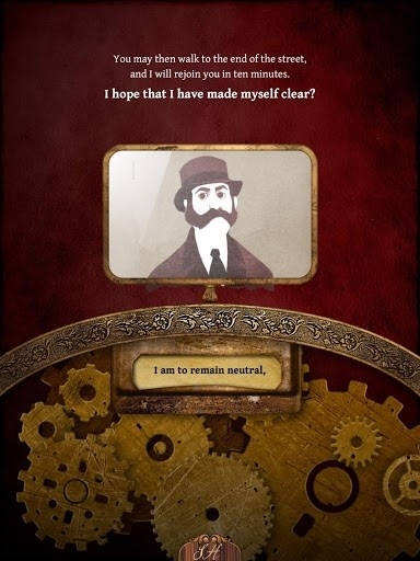 Скриншот The interactive Adventures of Sherlock Holmes для Андроид