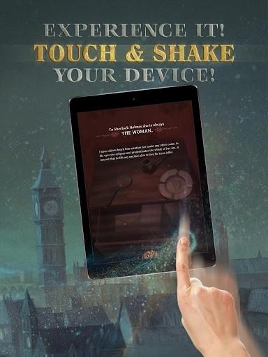 The interactive Adventures of Sherlock Holmes для Андроид