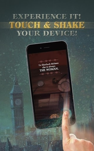 The interactive Adventures of Sherlock Holmes для Android
