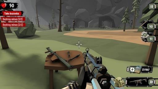 Приложение The Walking Zombie 2 для Андроид