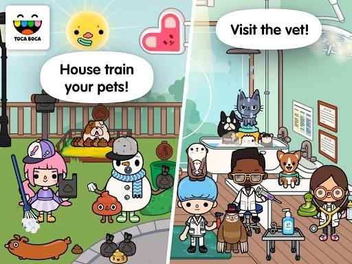 Toca Life: Pets для Android