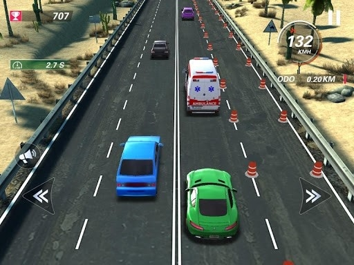 Скриншот Traffic Fever для Андроид