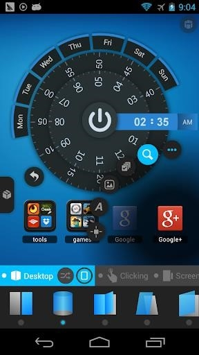TSF Launcher 3D Shell для Андроид