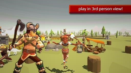 Скриншот Viking Village RTS для Андроид