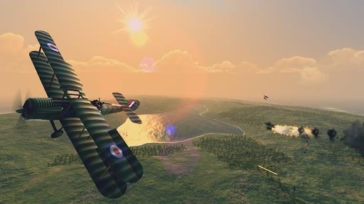 Скриншот Warplanes: WW1 Sky Aces для Андроид