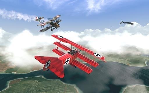 Приложение Warplanes: WW1 Sky Aces для Андроид