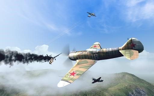 Скриншот Warplanes: WW2 Dogfight для Андроид