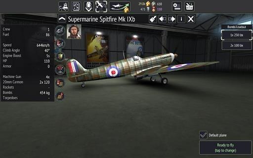 Warplanes: WW2 Dogfight для Андроид