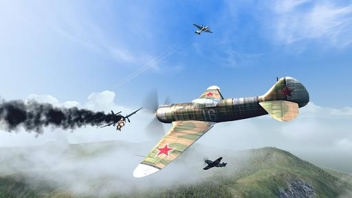 Warplanes: WW2 Dogfight для Android