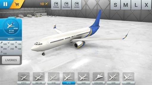 Приложение World of Airports для Андроид