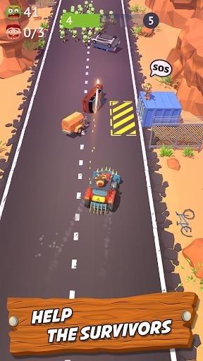 Скриншот Zombie Land Rush для Андроид