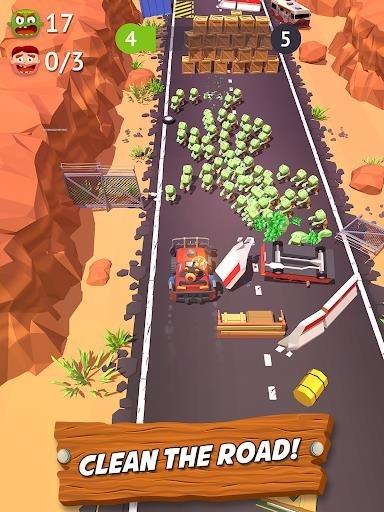 Zombie Land Rush для Андроид