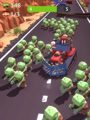 Приложение Zombie Land Rush для Андроид