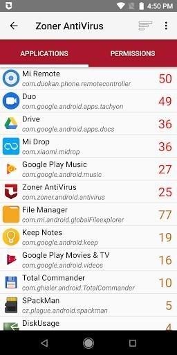 Zoner AntiVirus для Андроид