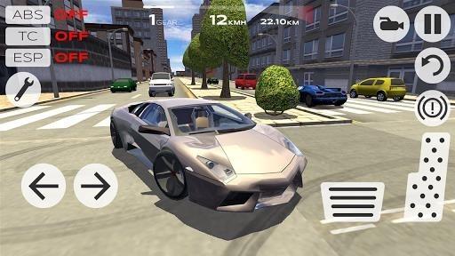 Приложение Extreme Car Driving Simulator для Андроид
